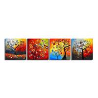 アートパネル 『生命の木Ⅱ』 50x50cm x 4枚組