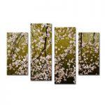 アートパネル 『桜Ⅳ』 30x80cm他、4枚組