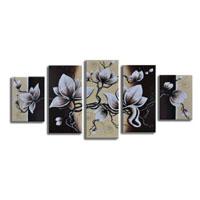アートパネル 『花びらⅩ』 30x70cm他、計5枚組