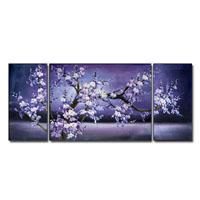 アートパネル 『夜桜Ⅱ』 30x60cm他、計3枚組