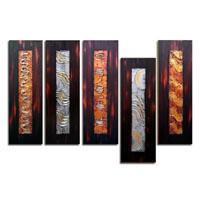 アートパネル 『装飾Ⅲ』 20x60cm x 5枚組