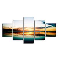 アートパネル 『地平線』 30x80cm他、計5枚組