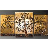 アートパネル 『生命の樹Ⅵ』 40x60cm他、3枚組