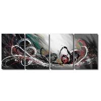 アートパネル 『飛沫Ⅲ』 40x50cm x 4枚組
