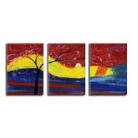 アートパネル 『枯れ木Ⅸ』 40x60cm x 3枚組