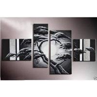 アートパネル 『松と銀』 30x40cm、1枚他、計4枚組