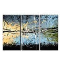 アートパネル 『流線Ⅵ』 30x60cm x 3枚組