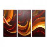 アートパネル 『うねり』 30x60cm x 3枚組
