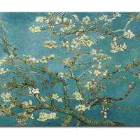 アートパネル ゴッホ『花咲くアーモンドの枝Ⅲ』 70x100cm x 1枚 模写(複製画)
