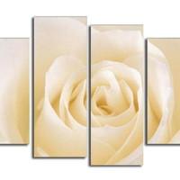 アートパネル 『白い薔薇』 30x60cm x 2枚他、計4枚組