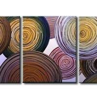 アートパネル 『円Ⅲ』 40x60cm x 3枚組