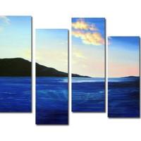アートパネル 『海と山』 30x80cm x 4枚組