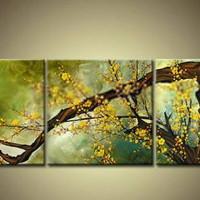 アートパネル 『黄桜』 30x50cm x 2枚他、計5枚組
