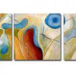 アートパネル 『抽象的Ⅲ』 50x50cm x 3枚組