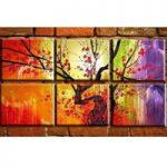 アートパネル 『梅の樹』 30x35cm、6枚組 梅 梅の木