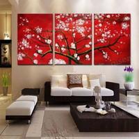 アートパネル 『白桜』 50x70cm x 3枚組 桜の木 サクラ