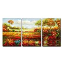 アートパネル 『田園Ⅱ』 40x60cm x 3枚組