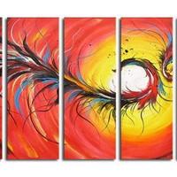 アートパネル 『飛龍』 30x80cm x 5枚組