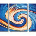 アートパネル 『シンプル・ブルー』 40x60cm x 3枚組