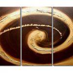 アートパネル 『渦Ⅴ』 30x60cm x 3枚組
