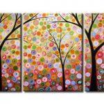 アートパネル 『踊る木XI』 40x60cm x 3枚組