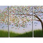 アートパネル 『葉Ⅱ』 50x60cm x 3枚組