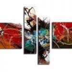 アートパネル 『カタストロフ』 20x80cm他、計4枚組