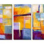 アートパネル 『イメージ・ブロック』 30x60cm x 3枚組